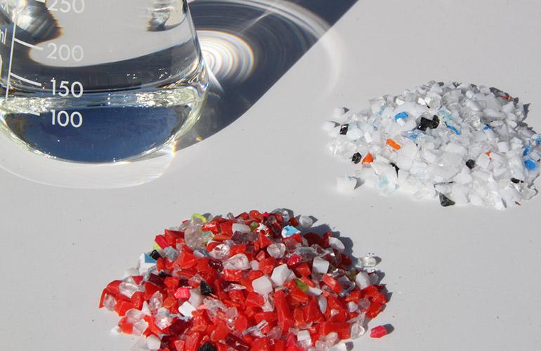 Reciclaje de metacrilato de metilo (MMA y PMMA)