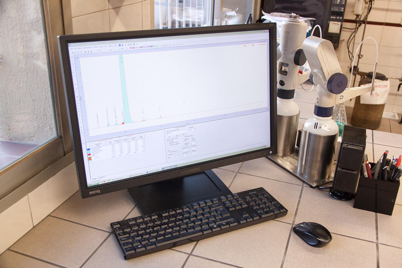 PC cromatografía